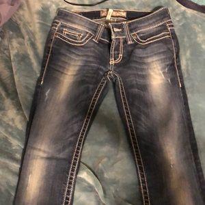 BKE Stella Ankle skinny Jeans!!